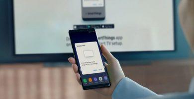 conectar celular a tv samsung