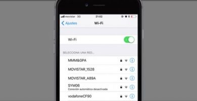 ver contraseñas wifi iphone