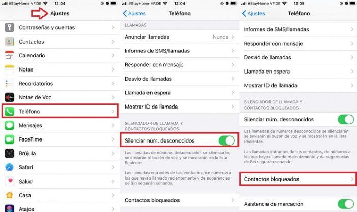 Bloqueo nativo en iPhone