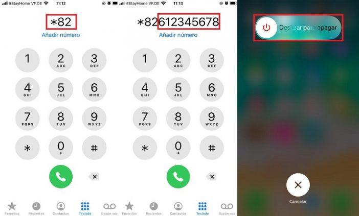 Desbloquear tu propio número de teléfono