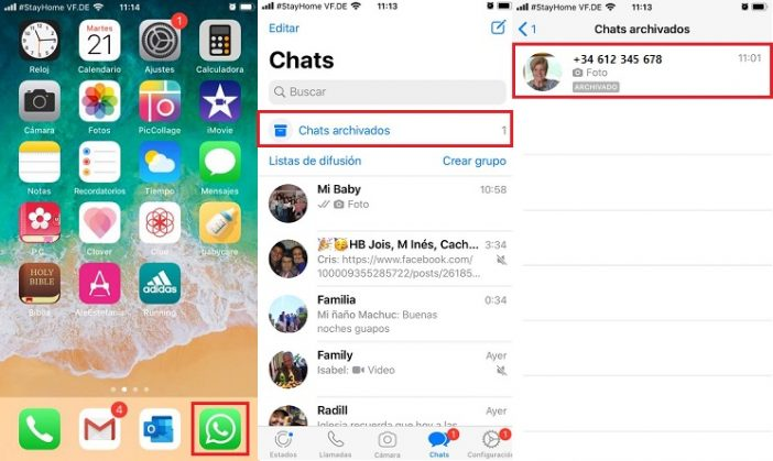Recuperar mensajes fácilmente WhatsApp