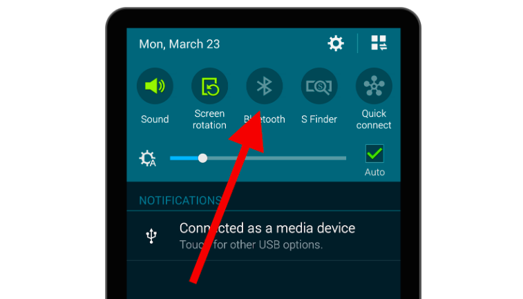 activar bluetooth android