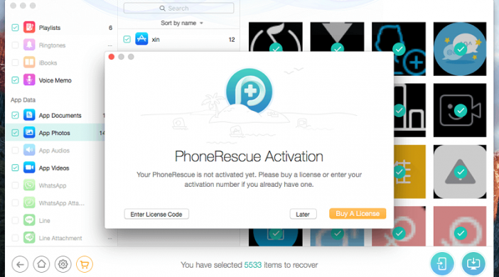 app PhoneRescue