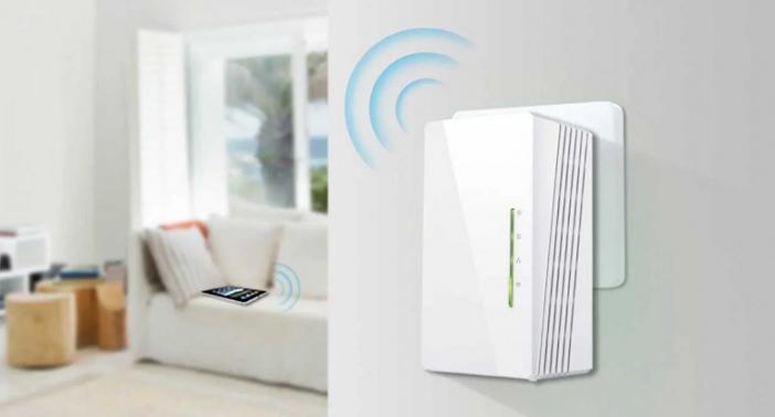 aumentar señal con repetidor wifi