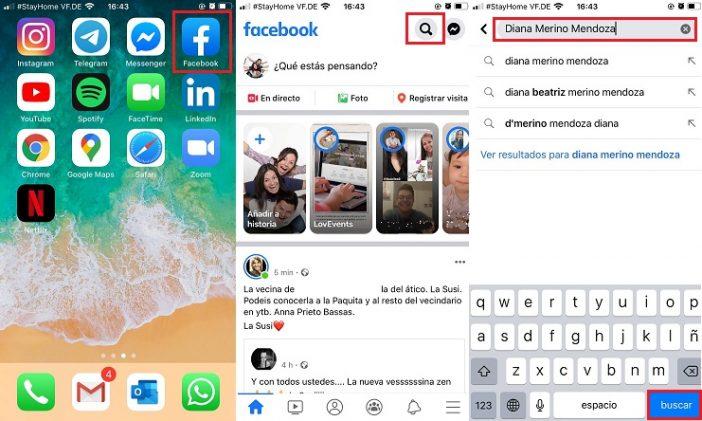 buscar numero en redes sociales facebook