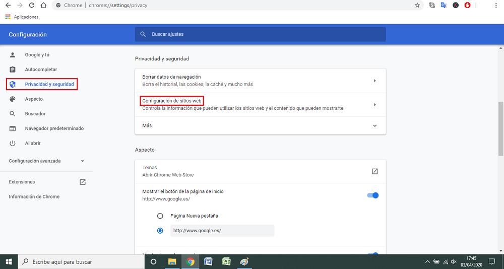 paso a paso 2 Borrar historial de Google Chrome automáticamente