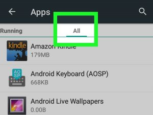 ver apps android