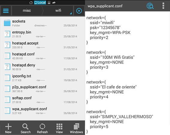 ver contrasena android sin aplicacion externa
