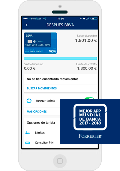 bbva mobile payment application