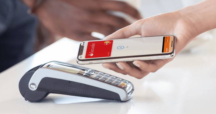 how to pay with your Santander mobile phone