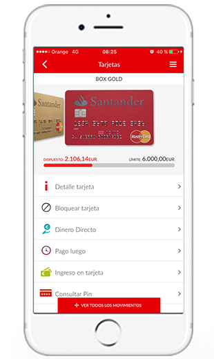 pay santander on android